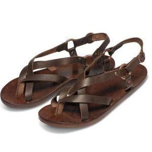 Beek Sparrow Sandals Brown 8